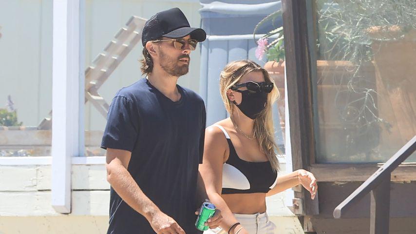 Doch nicht getrennt? Scott Disick und Sofia Richie am Strand