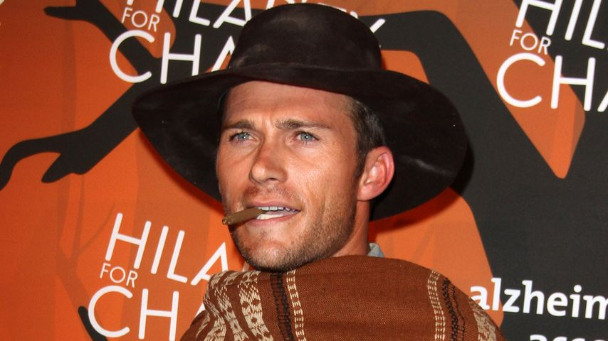 Scott Eastwood als Halloween-Cowboy in Los Angeles 2016