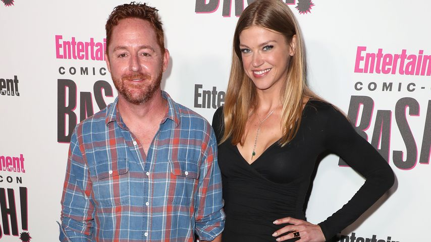 Scott Grimes und Adrianne Palicki bei Entertainment Weekly's Comic-Con Bash in San Diego