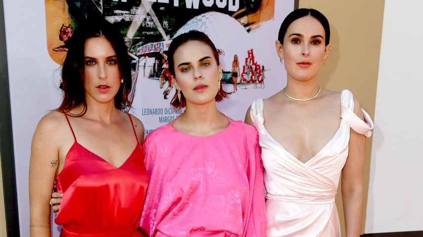 Scout LaRue Willis, Tallulah Willis und Rumer Willis