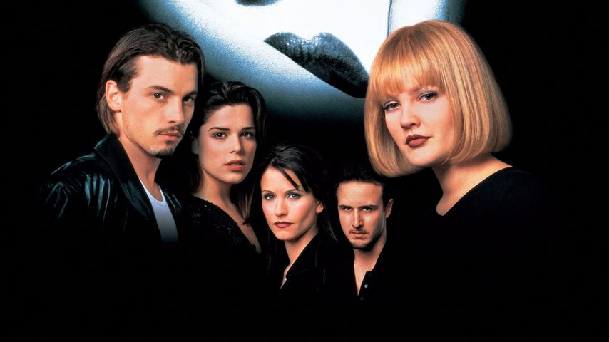 """Scream""-Filmplakat aus dem Jahr 1996"