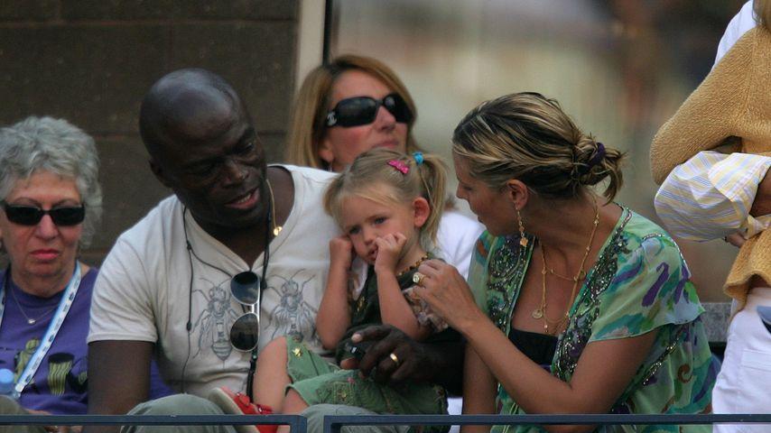 Seal, Leni und Heidi Klum bei den US Open 2006