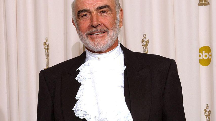 Sean Connery bei den Oscars in Hollywood im März 2003