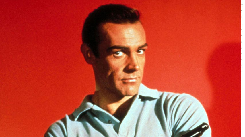 "Sean Connery in ""James Bond – 007 jagt Dr. No"""
