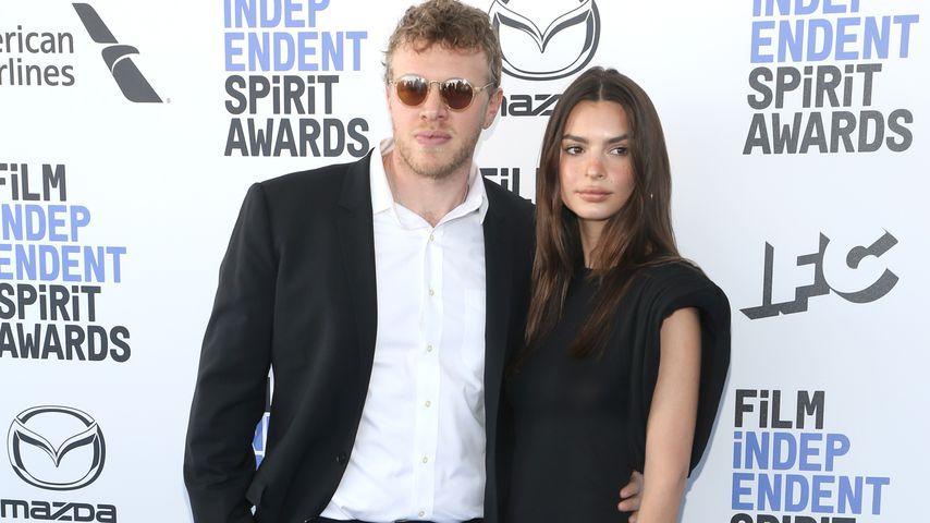 Sebastian Bear-McClard und Emily Ratajkowski im Februar 2020