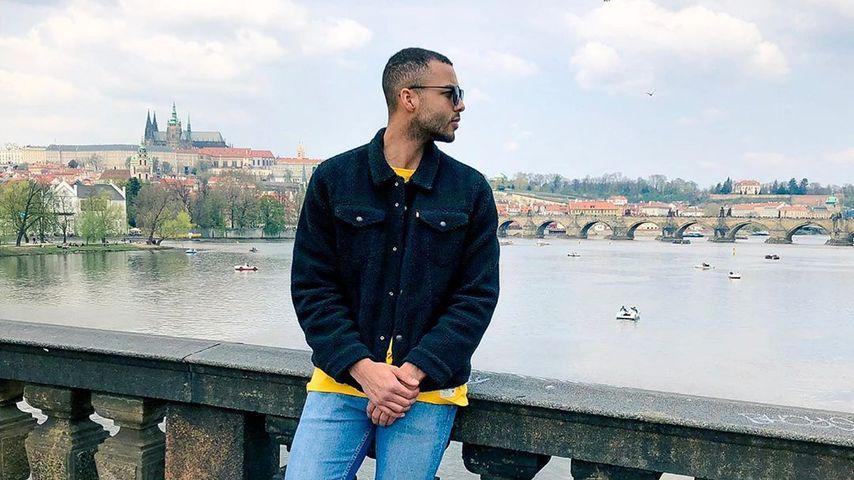 Sebastian Santana in Prag
