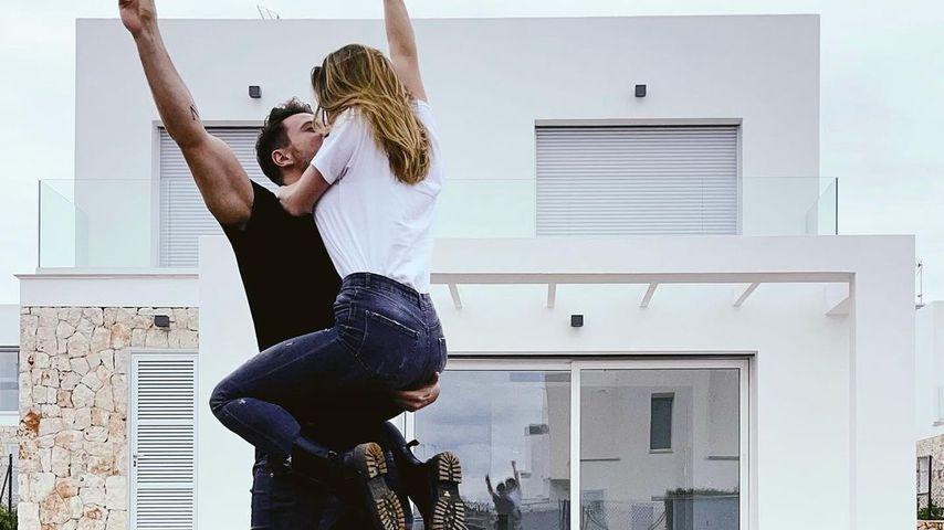 Sebastian und Angelina Pannek, März 2021
