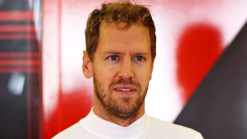 Sebastian Vettel im Juli 2019 in Northampton
