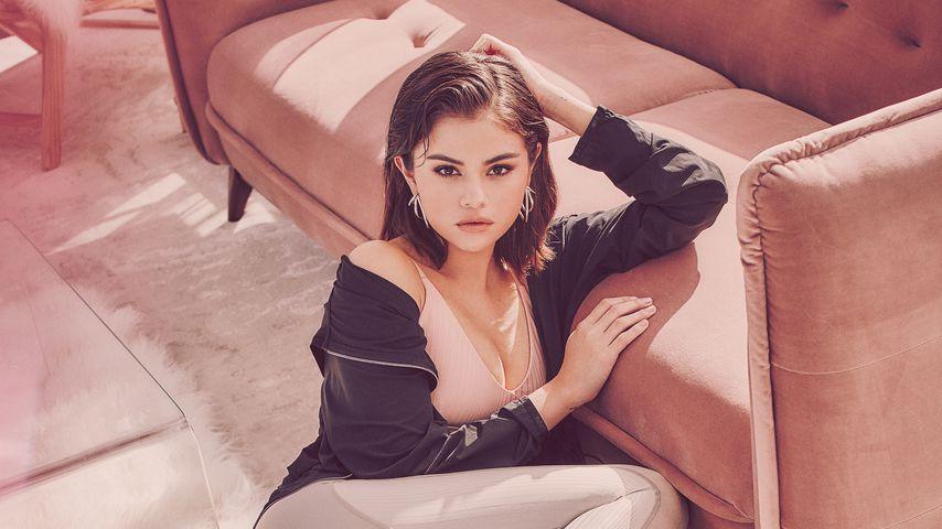 Selena Gomez als Model für das Label Puma