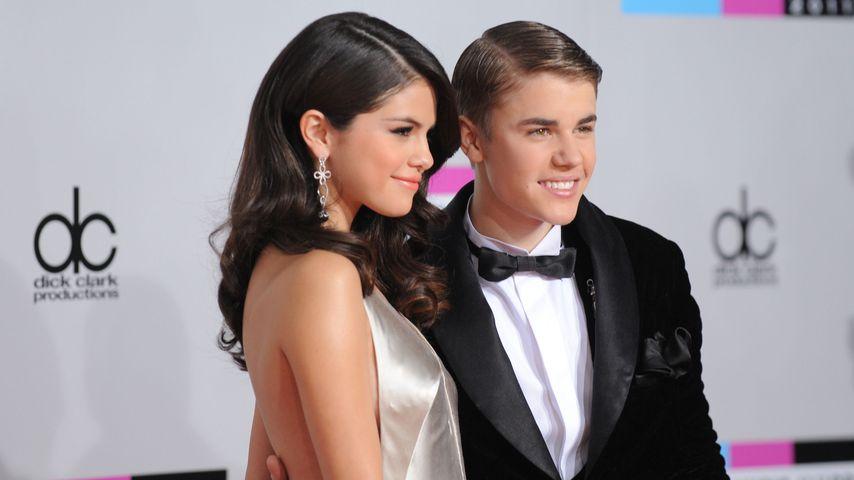 Selena Gomez und Justin Bieber, 2011