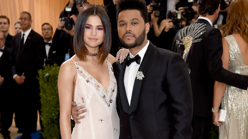 Selena Gomez und The Weeknd bei einer Gala in New York 2017