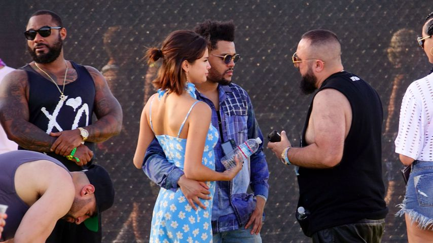 Selena Gomez uns The Weeknd in Indio