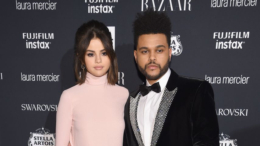 Selena Gomez und The Weeknd bei der Harper's Bazaar Celebration