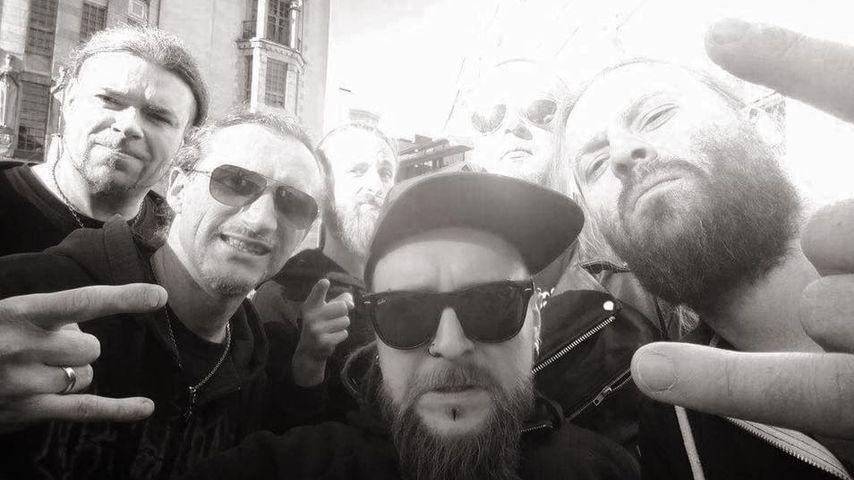 Selfie der Metal-Band Decapitated