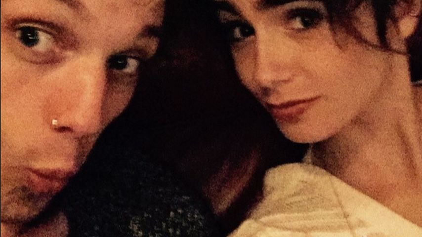 Jamie Campbell Bower und Lily Collins