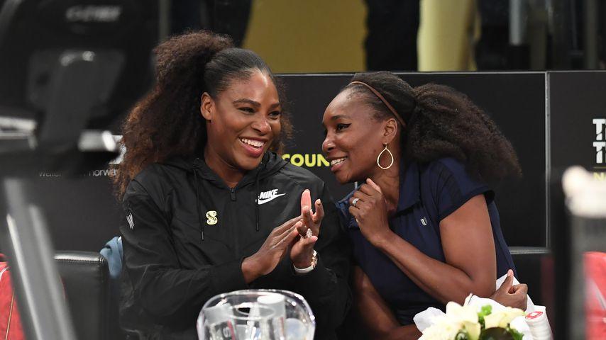 Mit XL-Kugel: Serena Williams strahlt – ist es bald so weit?