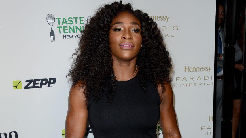 Treffer! Serena Williams macht Journalisten sprachlos
