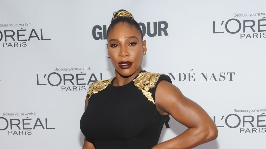 Serena Williams bei der Verleihung der Glamour Women of the Year 2017 Awards in New York