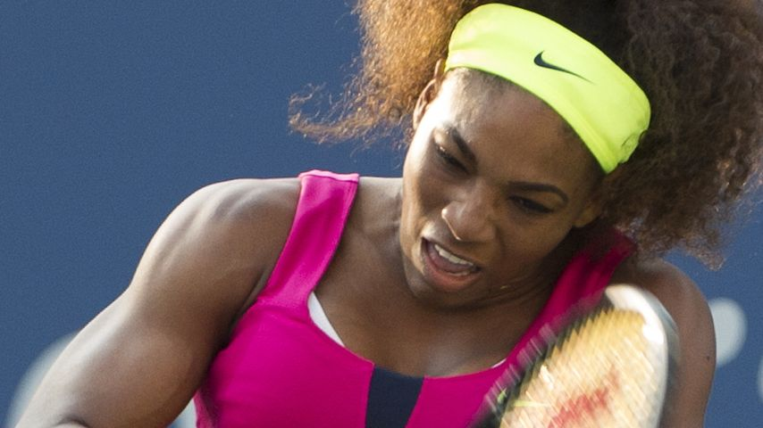 Serena Williams: Muskel-Show bei den US Open