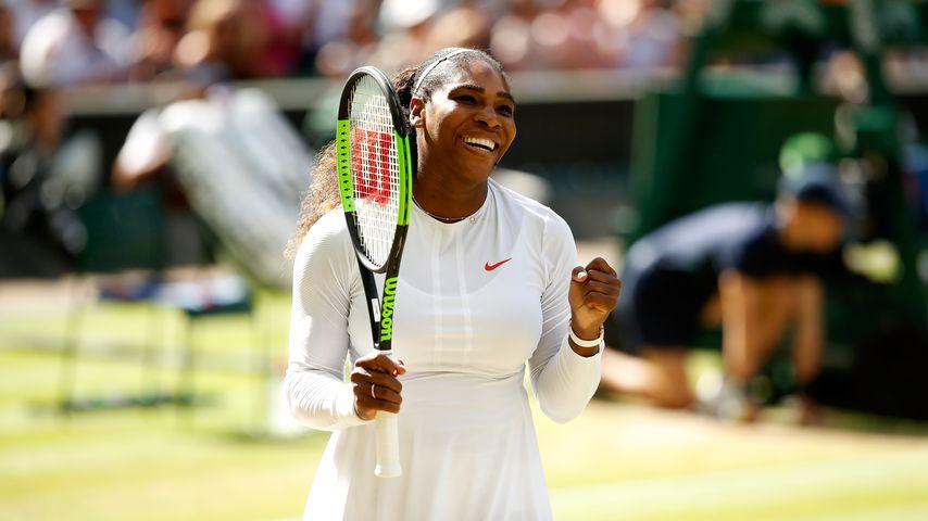Serena Williams im Wimbledon-Viertelfinale 2018