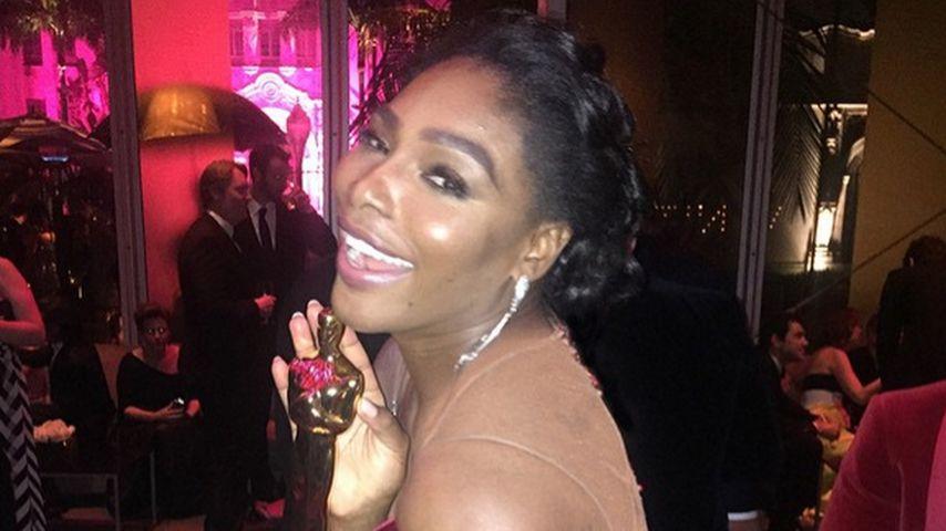 Diebisch: Serena Williams klaut Oscar vom Ex!