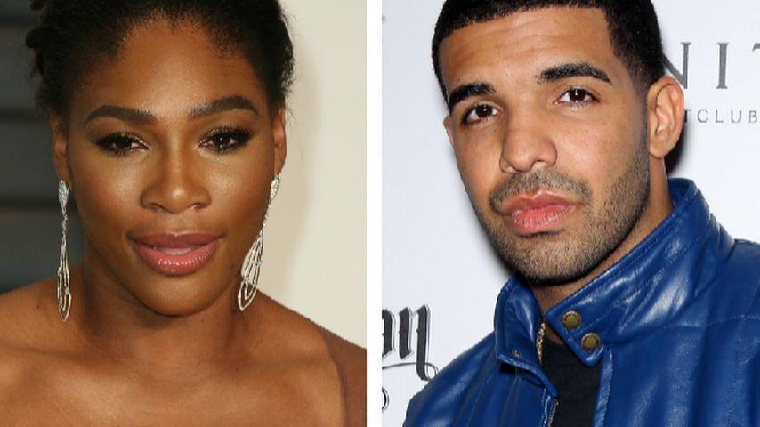 Verliebt? Serena Williams & Drake knutschen im Restaurant