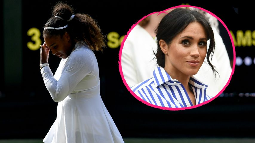 Weinte Meghan nach Wimbledon-Aus von BFF Serena Williams?