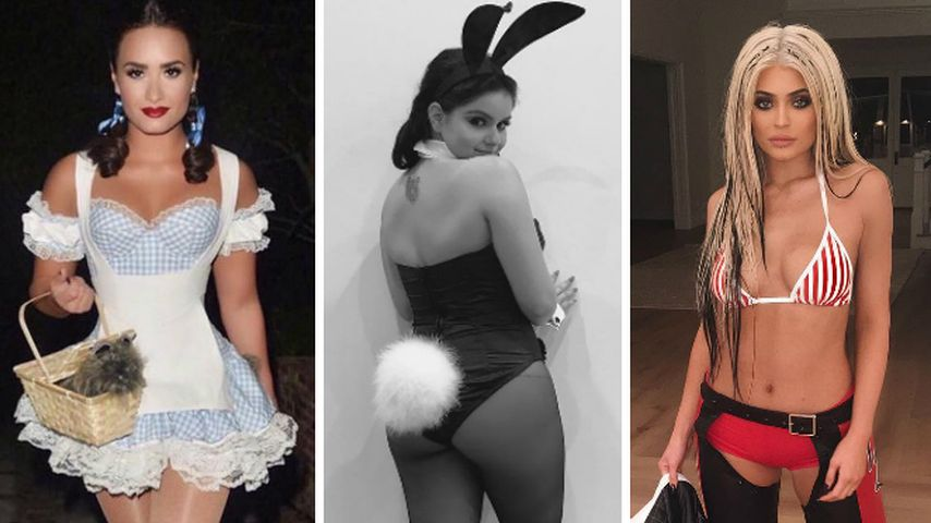 Total versext! Bei diesen Promi-Ladys ist Halloween mega-hot