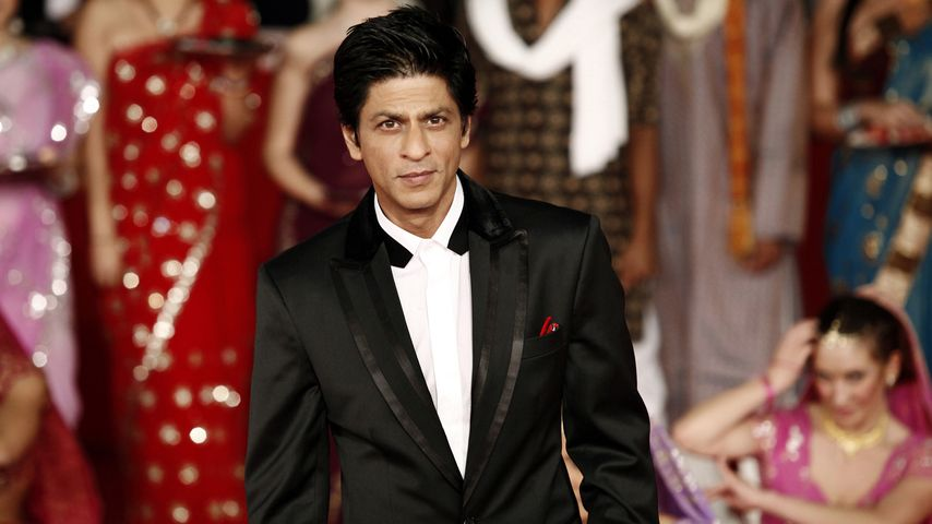 Shah Rukh Khan am Bollywood-Set