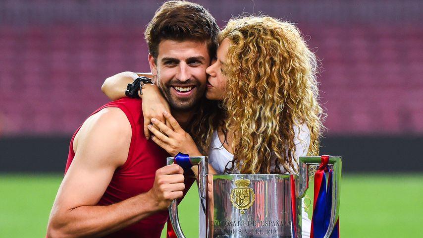 Shakira & Gerard Piqué: So küssen Sieger!