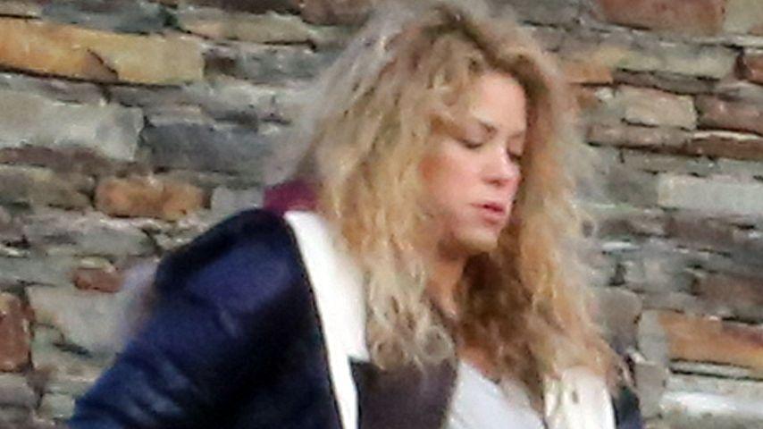 Neujahr mit Kugel: Shakira feiert mit Mega-Bauch