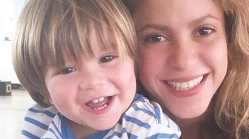 Süßer Strahlemann: Shakiras kleiner Sasha wieder gesund!
