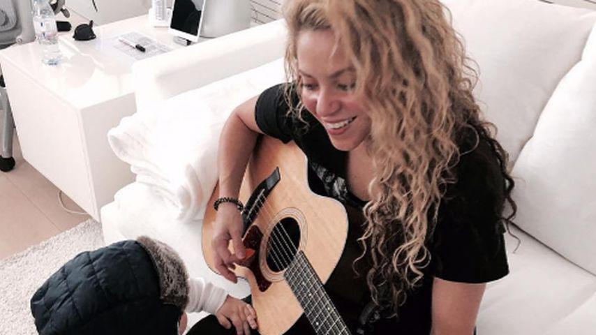 Shakira und Sasha Piqué Mebarak