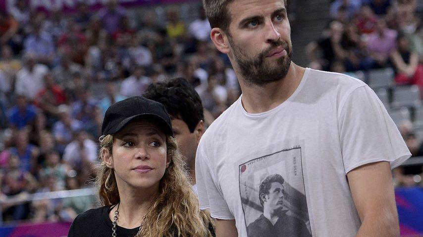 Shakira und Gerard Piqué 2014