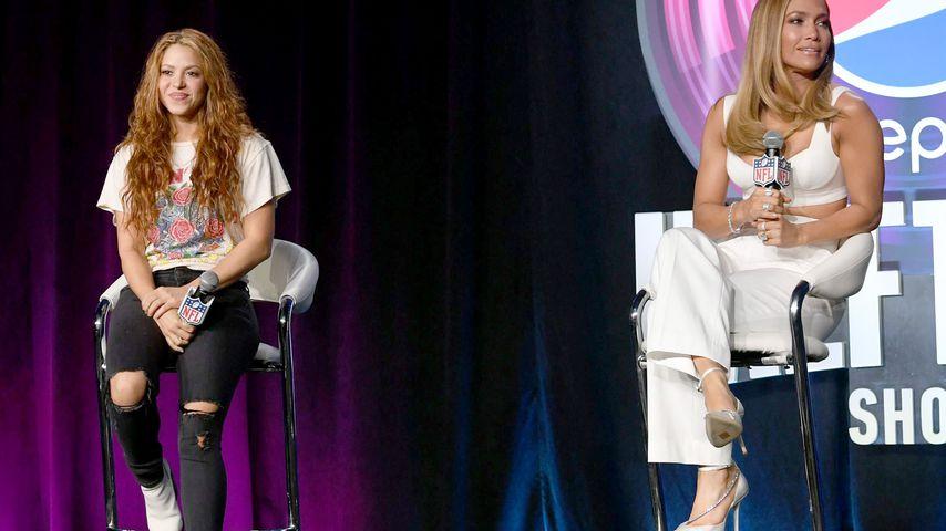 Shakira und Jennifer Lopez im Januar 2020