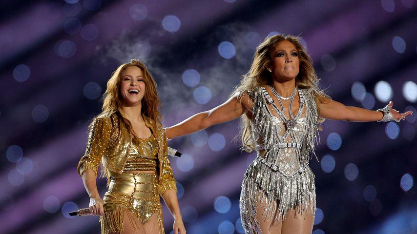 Shakira und Jennifer Lopez im Februar 2020 in Miami