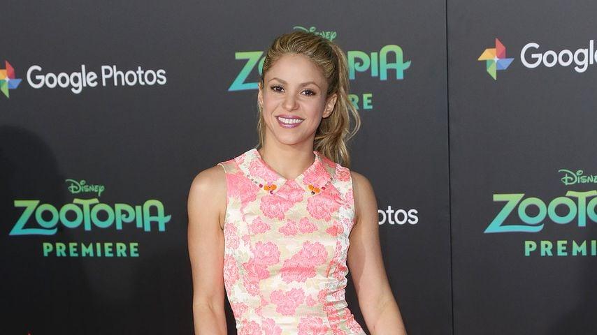 Knuffiger Familientag: Shakira total vernarrt in ihre Söhne