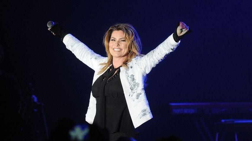 Shania Twain im Oktober 2017 bei einem Konzert in Orlando, Florida