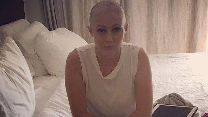 Ernst & erschöpft: Shannen Doherty kämpft tapfer gegen Krebs