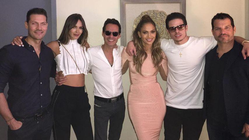Happy Ex-Paar: JLo & Marc Anthony verstehen sich bestens