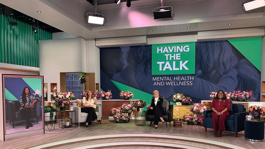 """Sharon Osbourne bei den Aufzeichnungen ihrer TV-Show """"The Talk"""" 2020"""