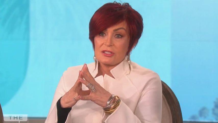 """Sharon Osbourne im Juli 2018 in der Sendung """"The Talk"""""""