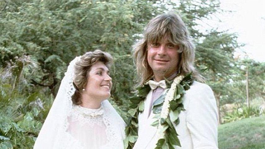 36 Jahre: Ozzy und Sharon Osbourne feiern Hochzeitstag