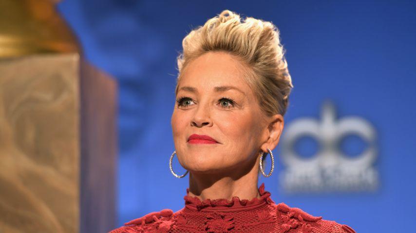 Sharon Stone im Dezember 2017