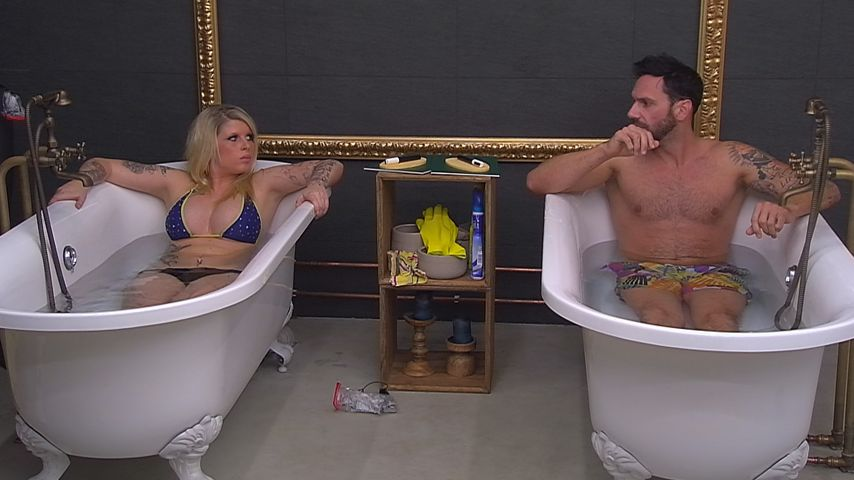 "Kaltes Klima-Match bei ""Big Brother"": Sharon zockt Guido ab"