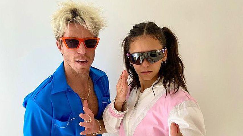 Shaun White und seine Partnerin Nina Dobrev