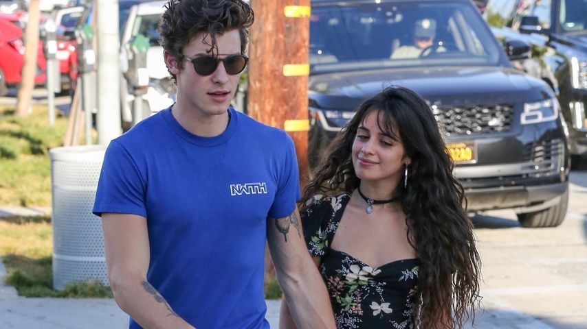 Shawn Mendes und Camila Cabello in West Hollywood