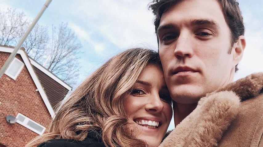 Shenae Grimes mit ihrem Mann Josh Beech