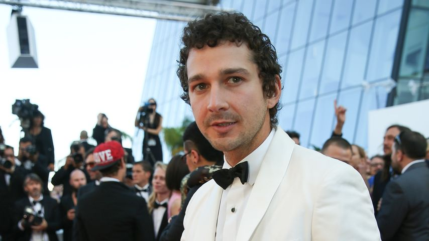 Shia LaBeouf bei einer Filmpremiere in Cannes