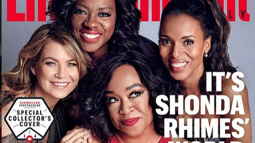 Ellen Pompeo, Shonda Rhimes, Kerry Washington und Viola Davis